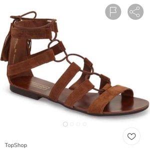Topshop hipster sandals